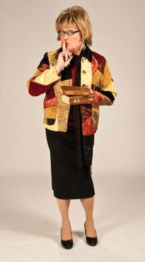 Salt Lake City drag icon and activist, Sister Dottie S. Dixon.