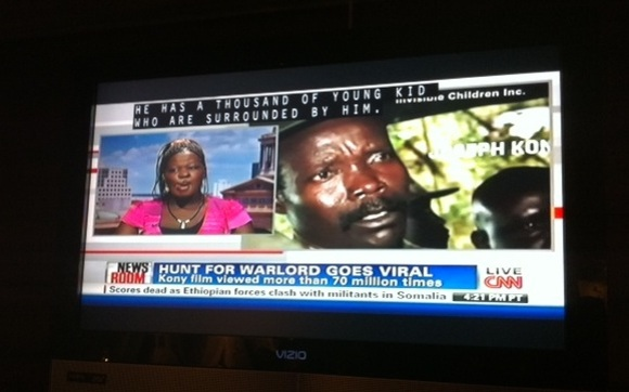 CNN Headline: Hunt for warlord goes viral